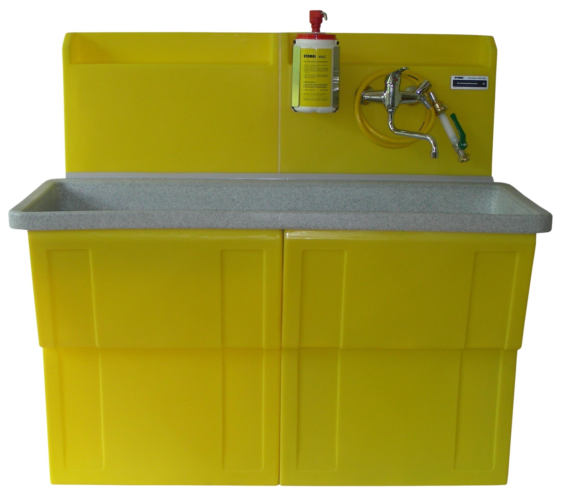 STROBBER WA 1500 Werkzeug Waschsystem - Kompakt und Umweltschonend