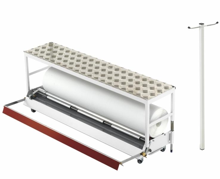 Tapofix Glasgewebe Abrollgerät komplett - Für Wandbeklebungen bis 110 cm Breite