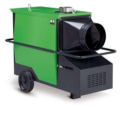 REMKO Heizautomat CLK 70 mit Gebläse-Propangasbrenner - Vielfältige Einsatzmöglichkeiten in der Baubeheizung