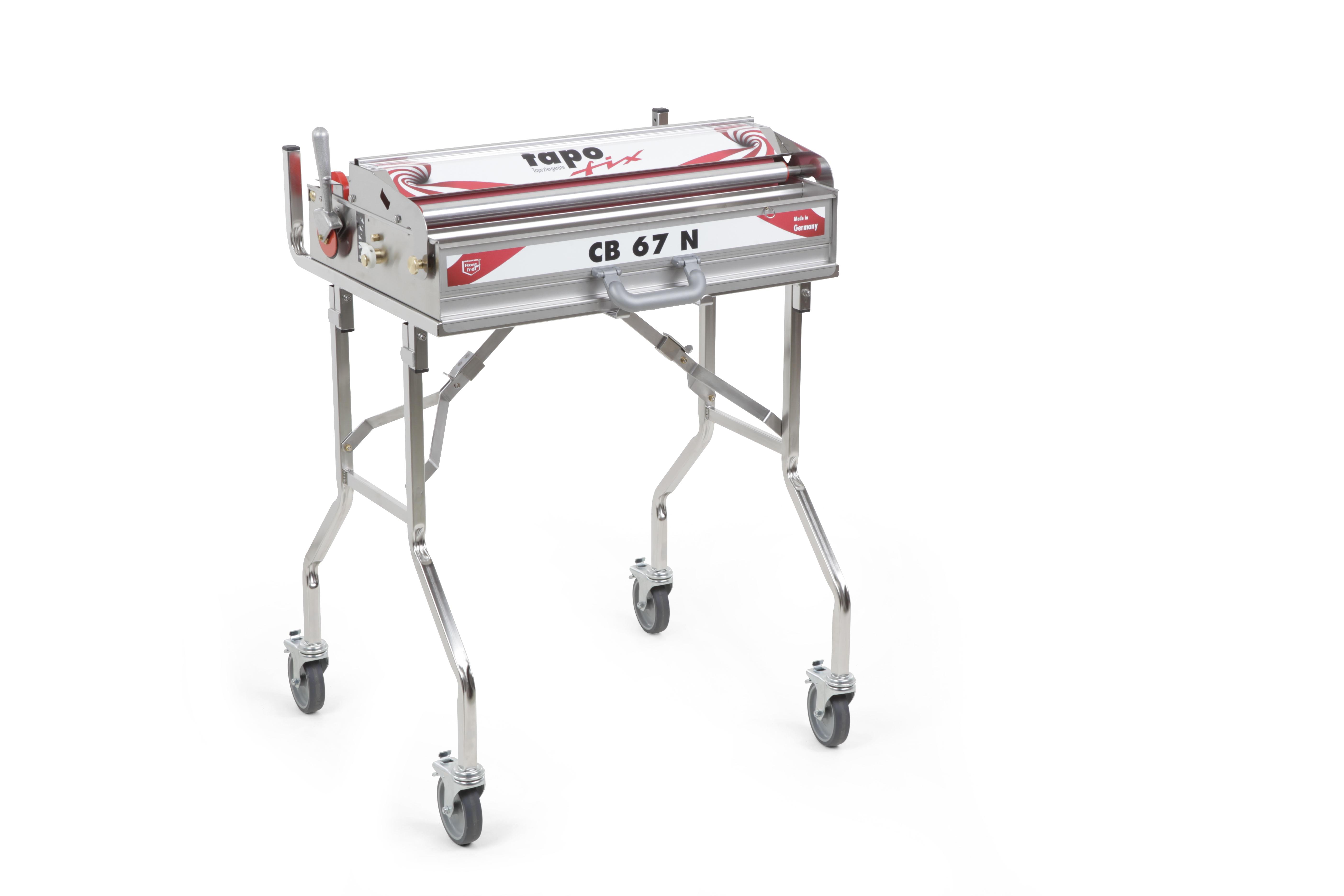 Tapofix Kofferset CB 67 N - Komplettset mit Tapeziergerät und Meterzähler