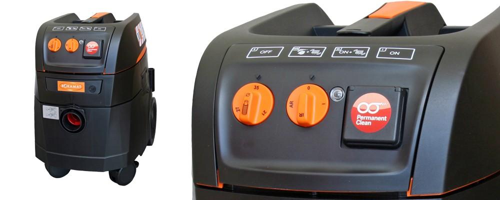 ROKAMAT TAPIR M35 Constant-Clean-Spezialsauger für schädliche Stäube (Staubklasse M)