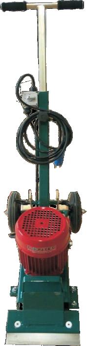 Bodenstripper WEASEL für die Entfernung von Teppich, Linoleum, Vinyl.