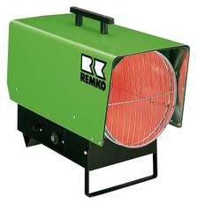 REMKO Gas-Heizlüfter PGM 60 - Schnelle Punktbeheizung für drinnen und draußen