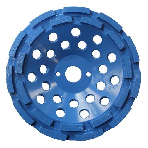 CONTEC Diamantschleifscheibe doppelreihig 180 mm blau